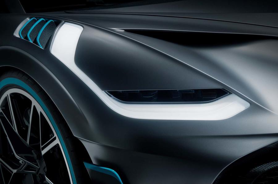 Bugatti Divo light