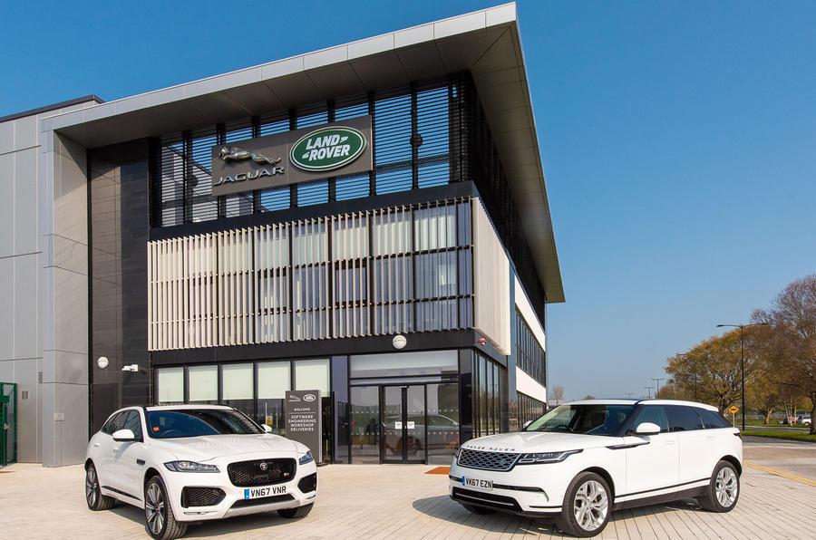 Jaguar Land Rover explores using recycled plastic on its cars