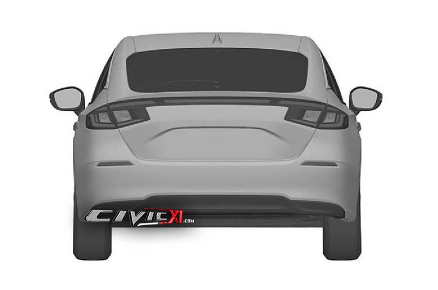 Next civic rear view