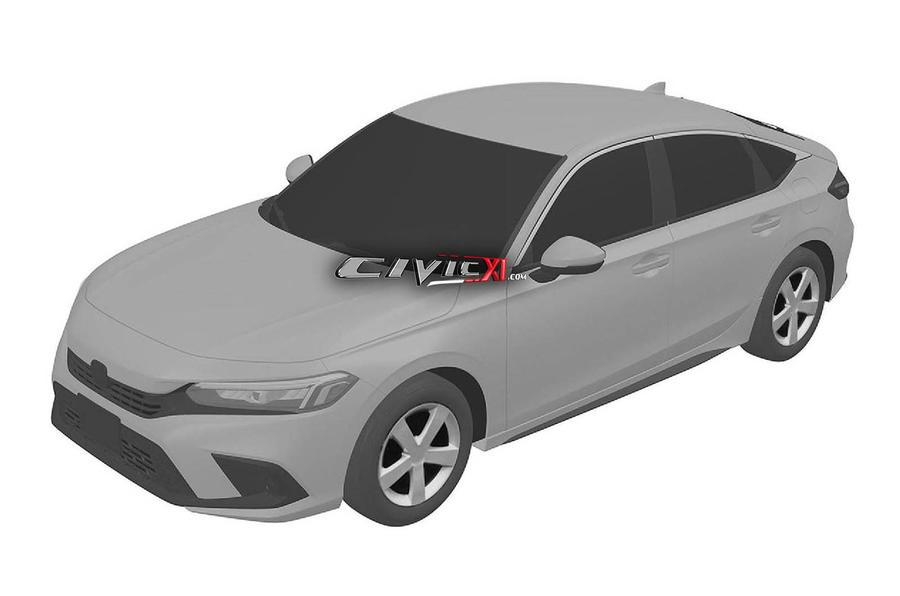 Honda Civic patent image