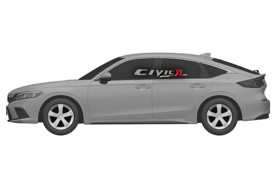 Next civic side view