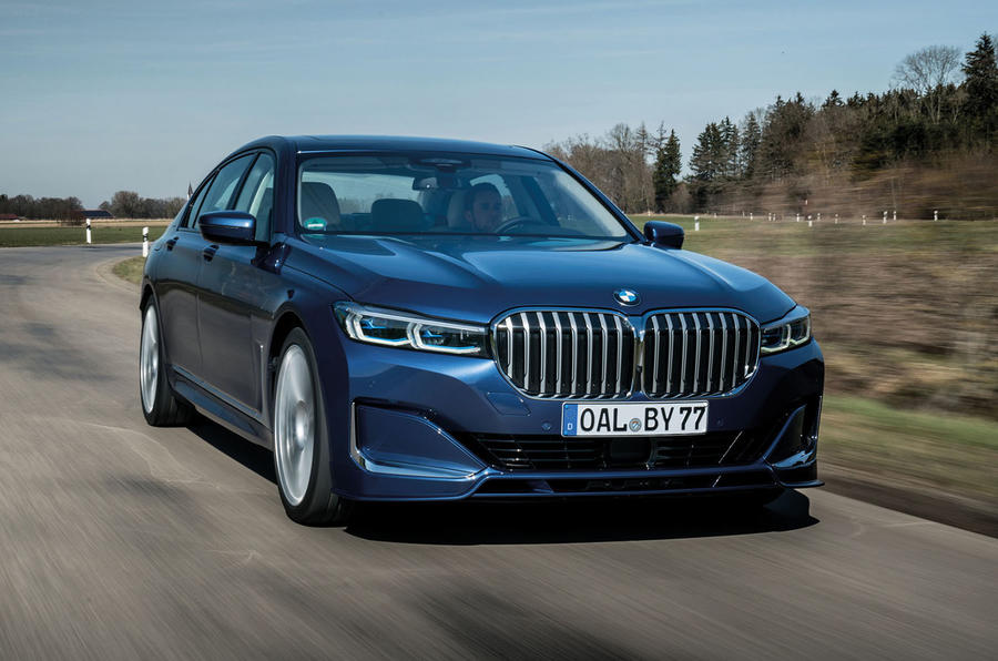 Alpina B7 2019 first drive review - on the road front
