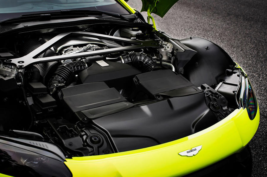 Aston Martin Vantage engine