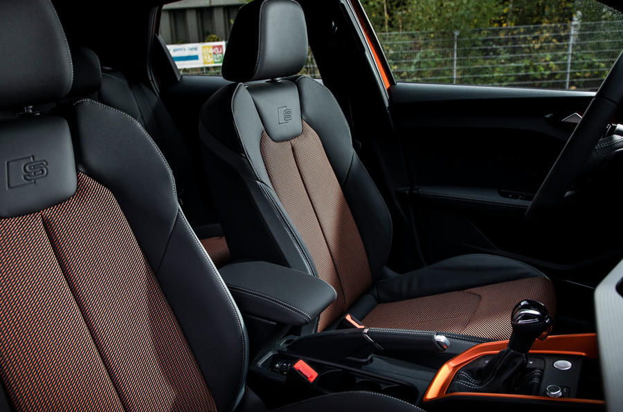 Audi A1 Citycarver 2019 first drive review - front seats