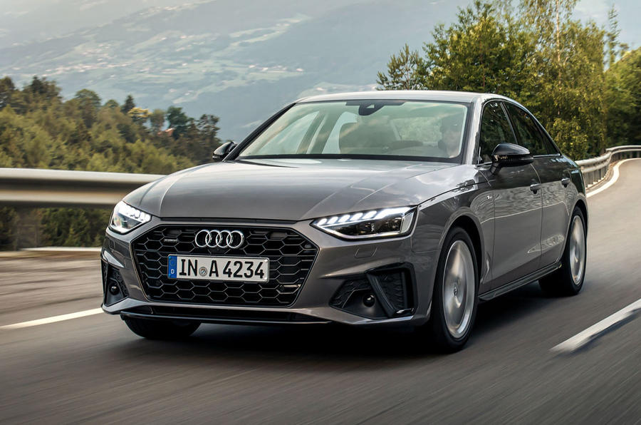Audi A4 2019 first drive review - on the road front