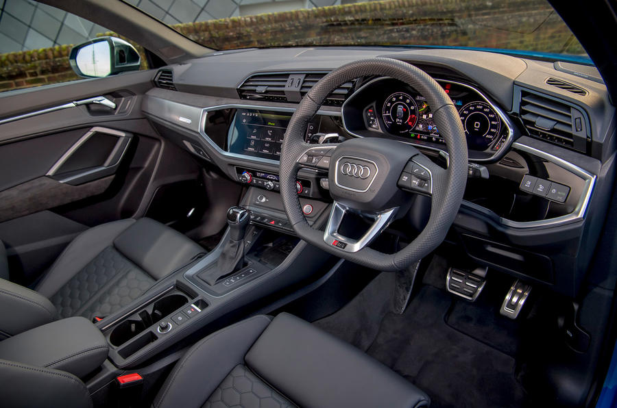 Audi RS Q3 Sportback 2019 UK first drive review - cabin