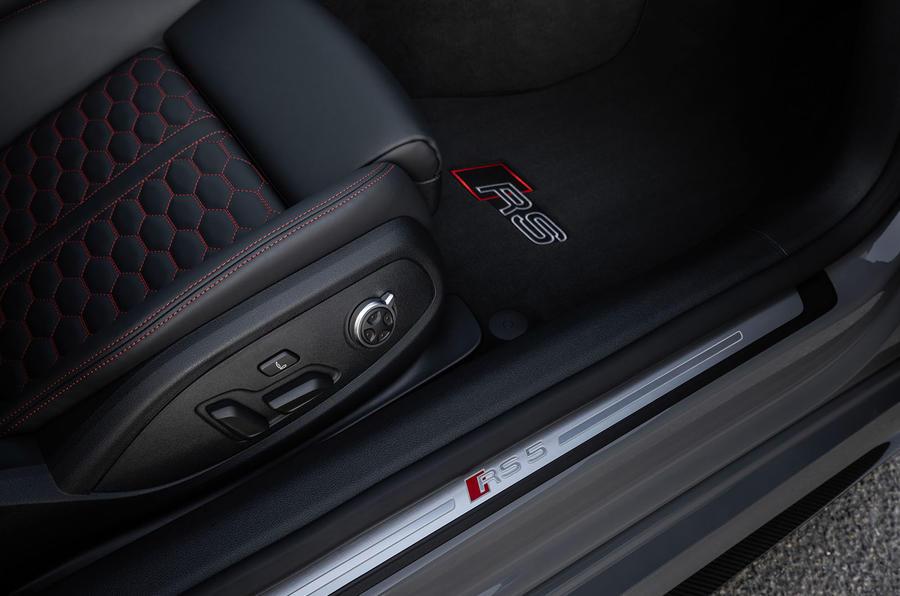 Audi RS5 Coupé 2020 first drive review - door cards