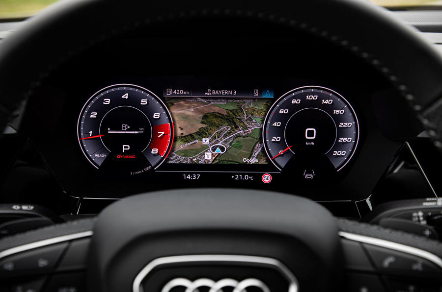 Audi S3 Sportback 2020 first drive review - instruments