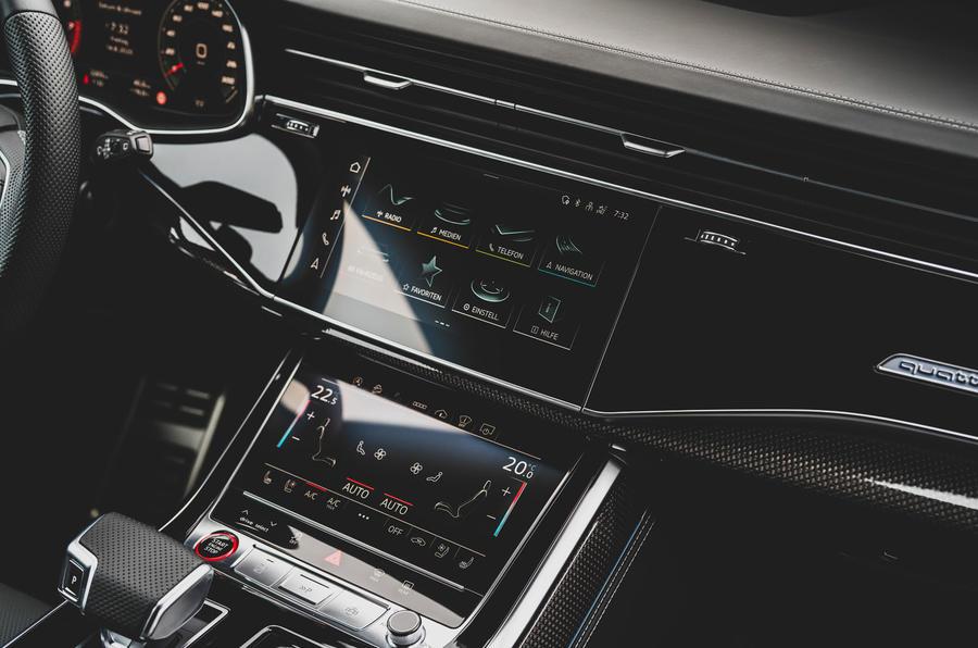 Audi SQ7 2020 : premier bilan de conduite - infotainment