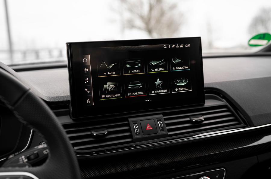 12 Audi SQ5 2021 : premier examen de conduite infotainment