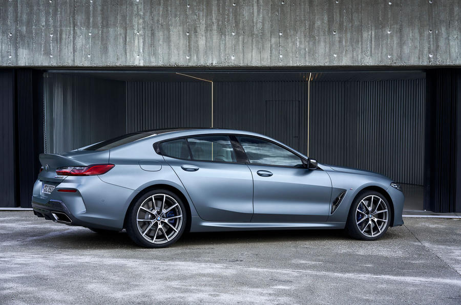BMW 8 Series Gran Coupe 2019 first drive review - static rear
