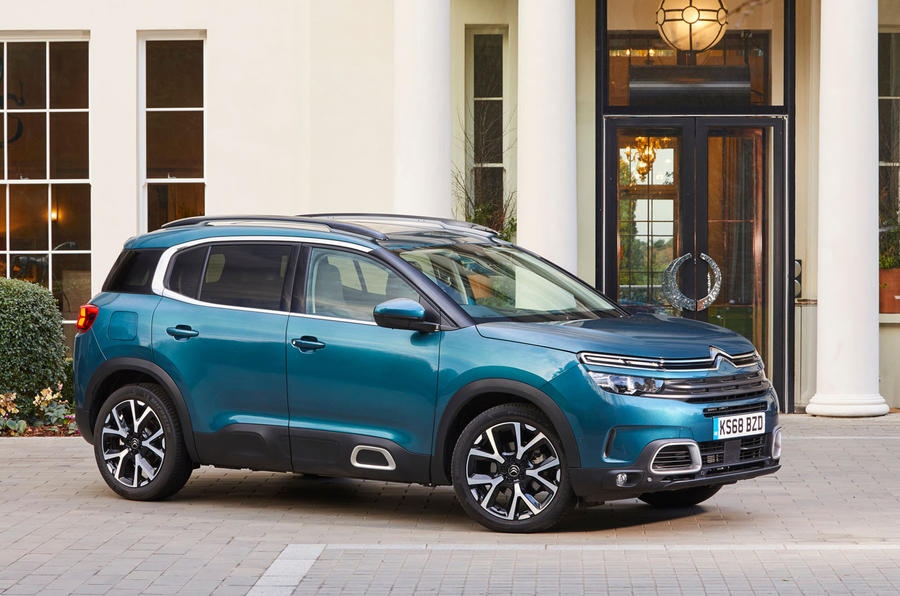 Citroen C5 Aircross 2019 UK first drive review - static front
