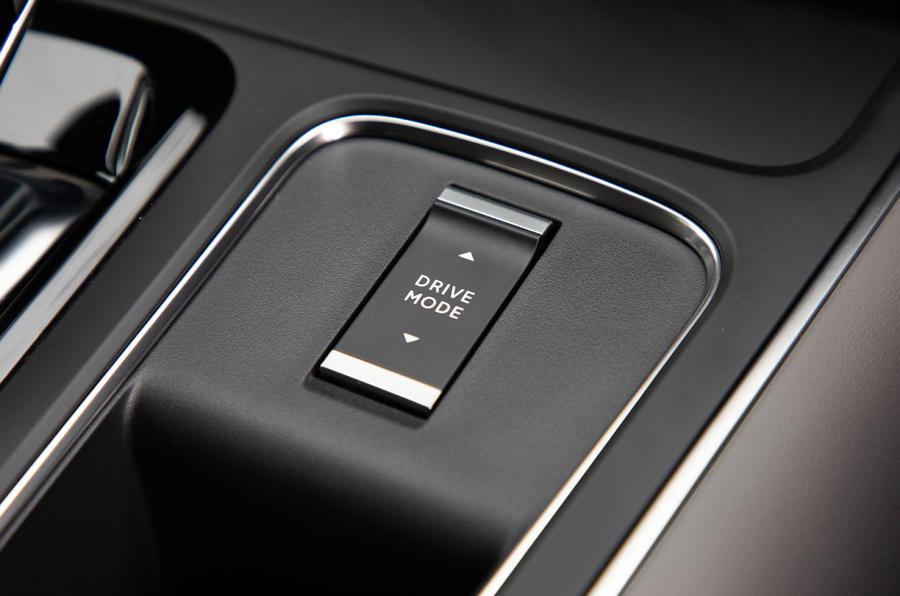 Citroen C5 Aircross Hybrid 2020 UK first drive review - drive mode controls