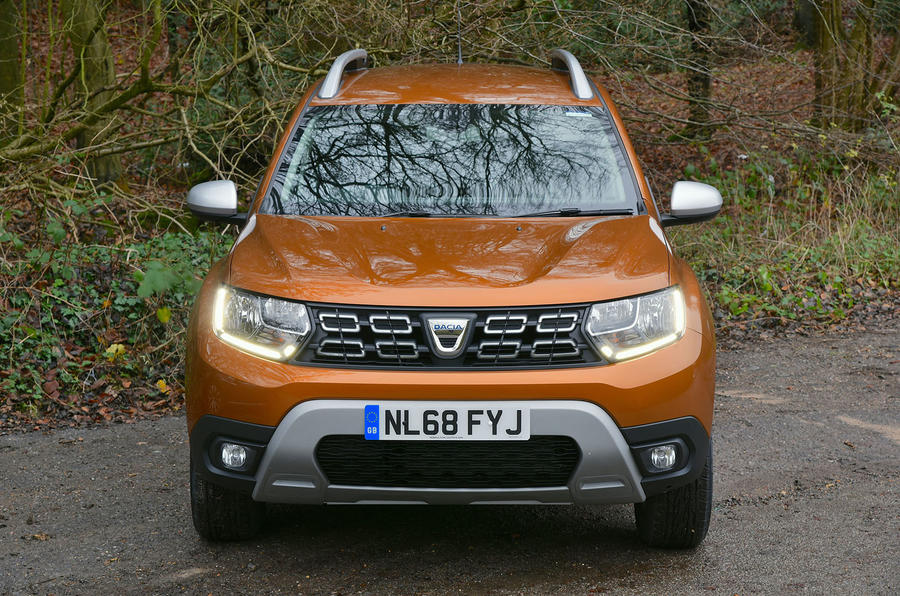 Dacia Duster 2019 long-term review - static nose