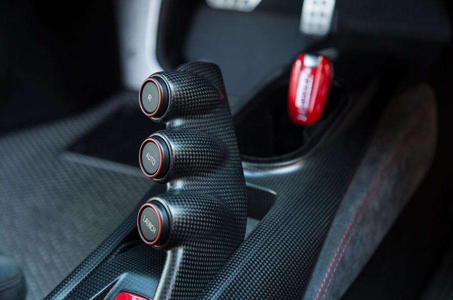Ferrari 488 Pista 2018 review launch control