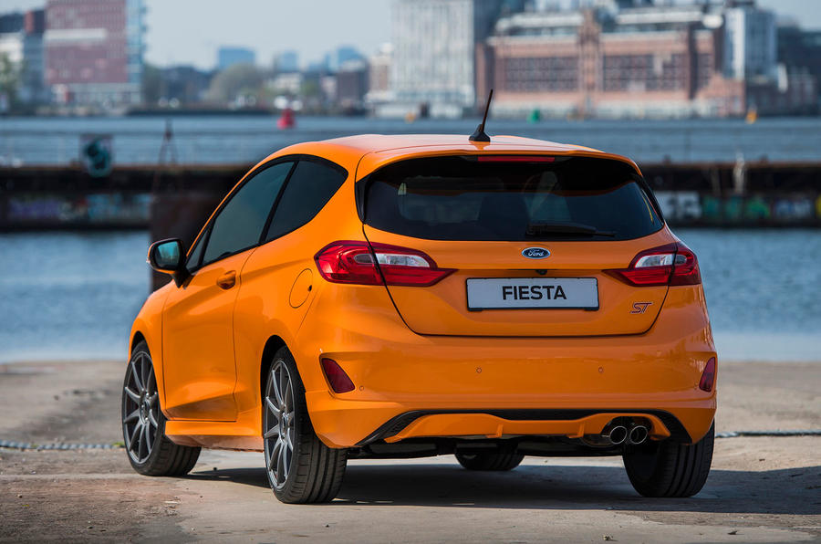 Ford Fiesta ST Performance 2019 first drive review - static rear