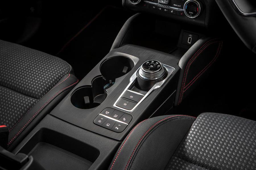 Ford Focus ST-Line 182PS 2018 UK first drive review - centre console