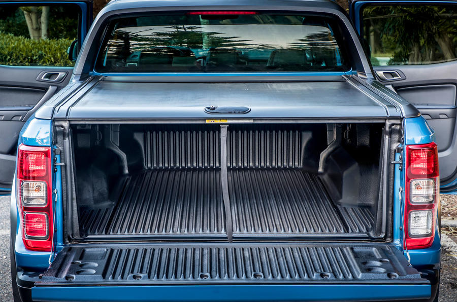 Ford Ranger Raptor 2019 first drive review - truck bed