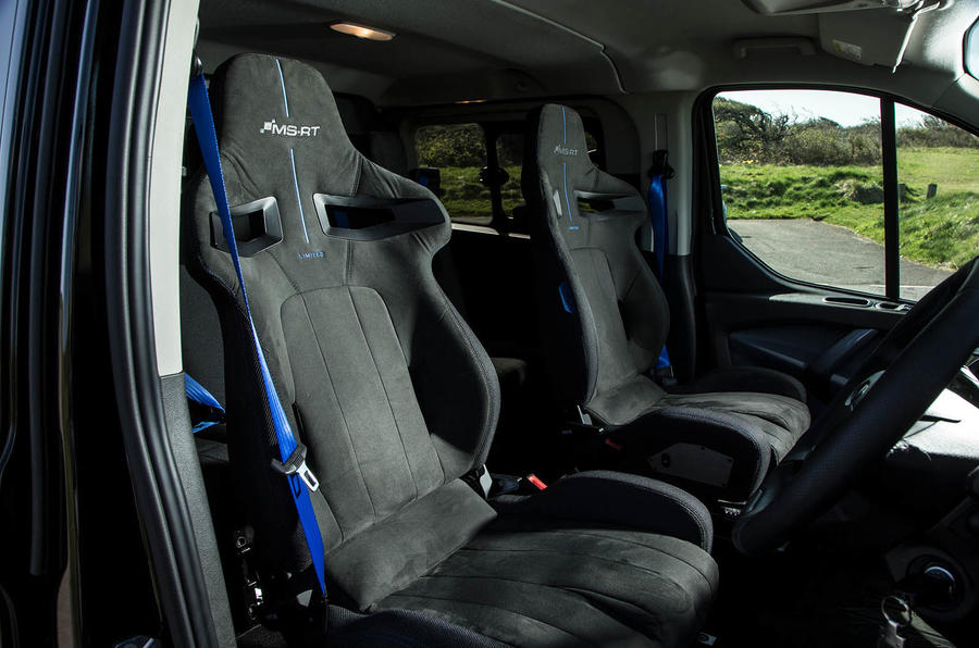 Ford Transit MS-RT custom review cabin