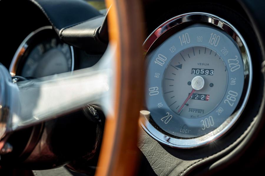 12 GTO California Spyder revival 2021 UE FD compteur de vitesse
