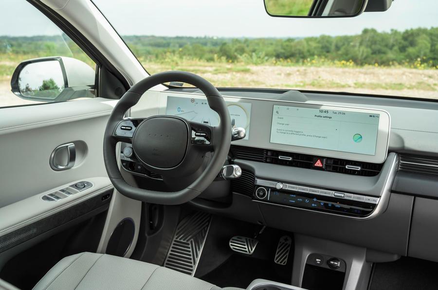 12 Hyundai Ioniq 5 2021 FD plaques de Norvège tableau de bord