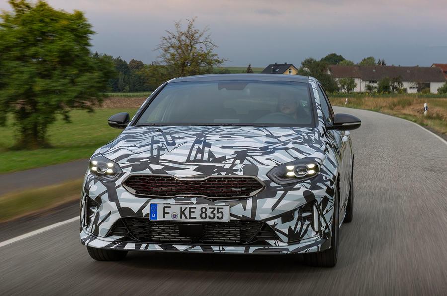 Kia Proceed GT 2018 prototype drive cornering