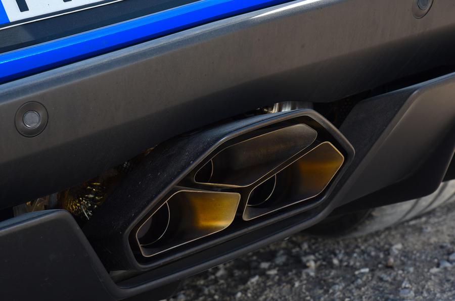 Lamborghini Aventador S 2018 first drive review exhaust