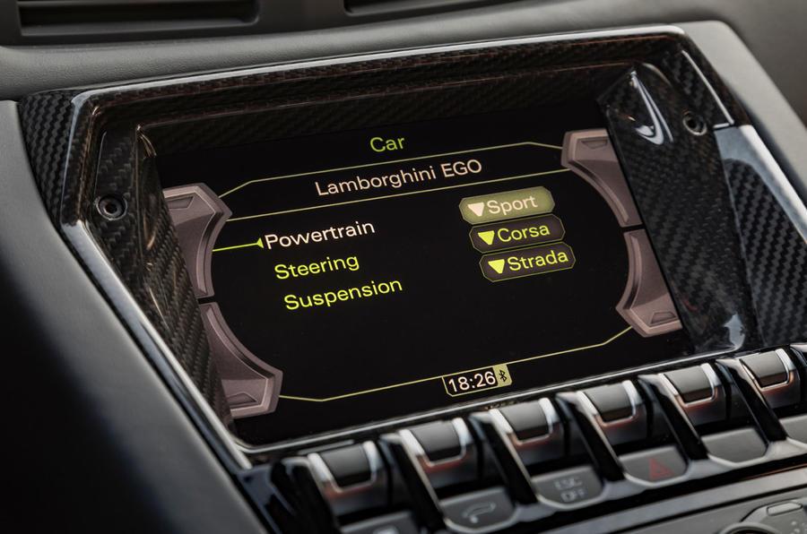 Lamborghini Aventador SVJ 2018 first drive review infotainment