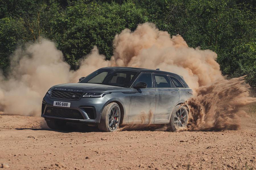 2019 Range Rover Velar SVAutobiography Dynamic - drifting