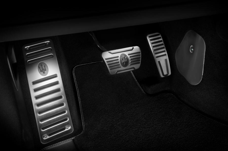 Maserati Levante Trofeo 2019 first drive review - pedals