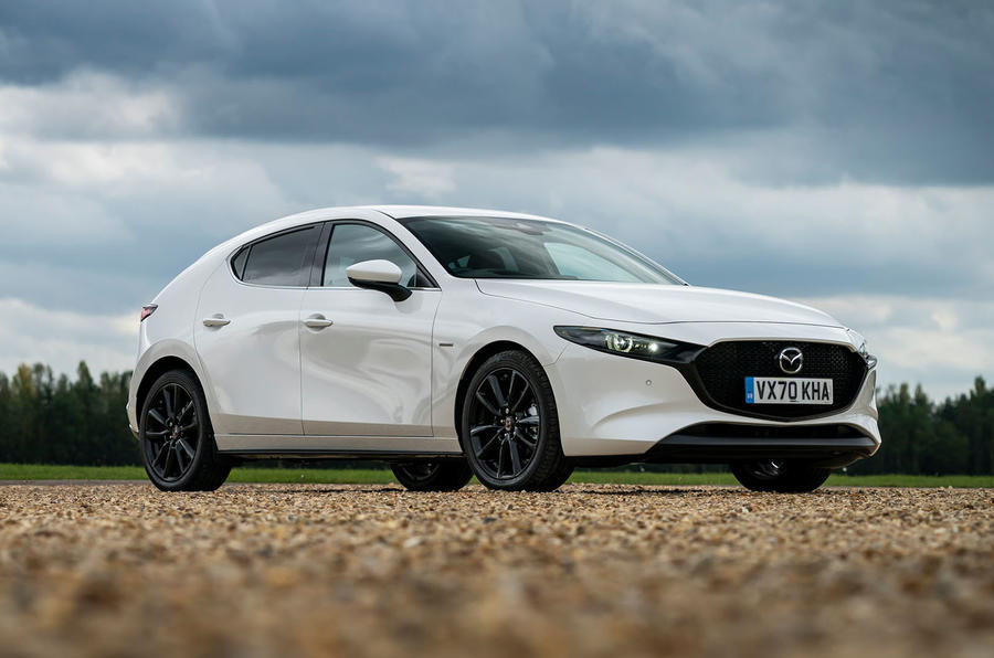 Mazda 3 100th Anniversary edition 2020 UK first drive review - static front