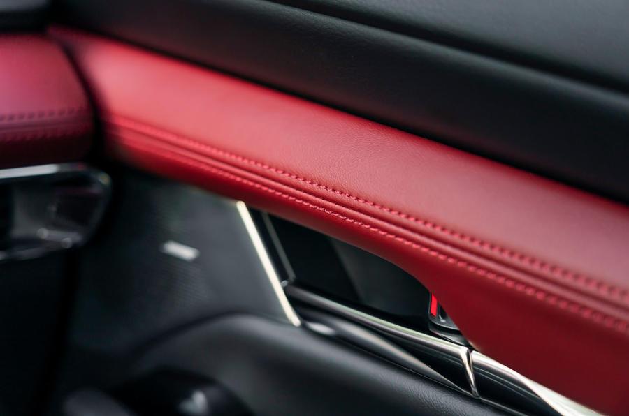 Mazda 3 Skyactiv-X 2019 first drive review - interior trim