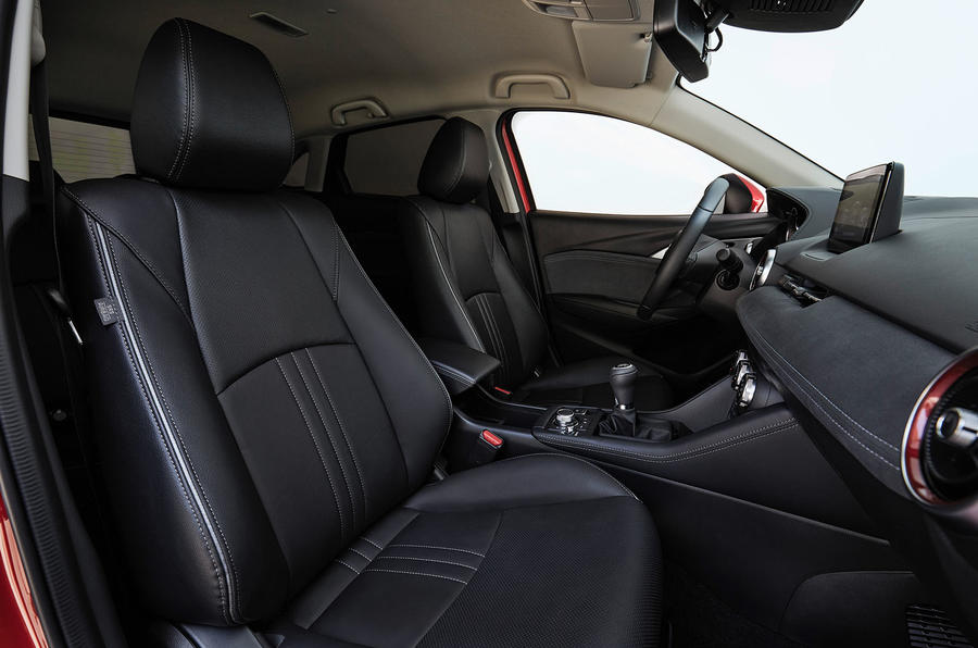 Mazda CX-3 2018 first drive review front seats