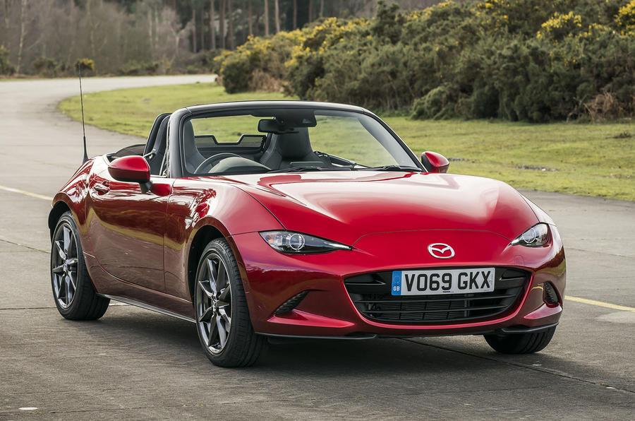 Mazda MX-5 2.0 Sport Tech 2020 : premier bilan de la conduite au Royaume-Uni - avant statique