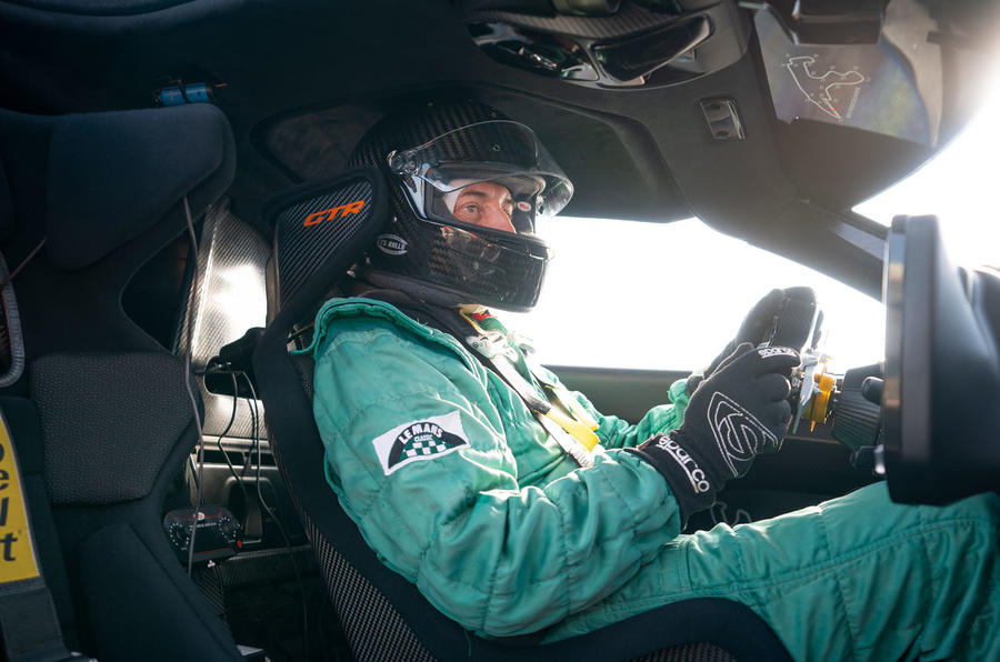 McLaren Senna GTR 2019 first drive review - Andrew Frankel driving