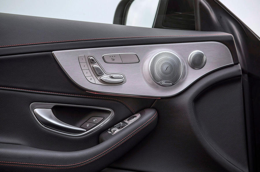 Mercedes-AMG C43 2018 first drive review door controls