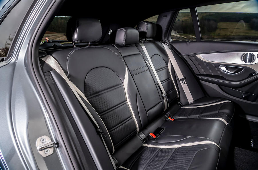 Mercedes-AMG C63 S Estate 2019 first drive review - rear seats