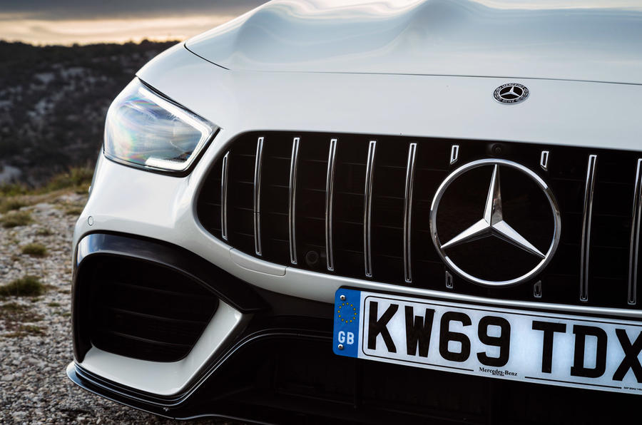 Mercedes-AMG GT 63 S Coupe - grille
