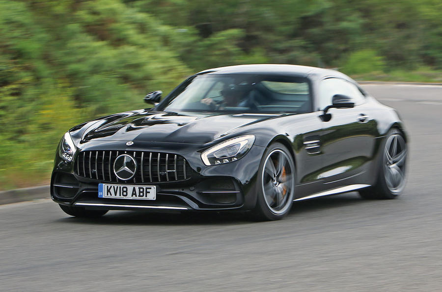 Mercedes-AMG GT C 2018 first drive review cornering
