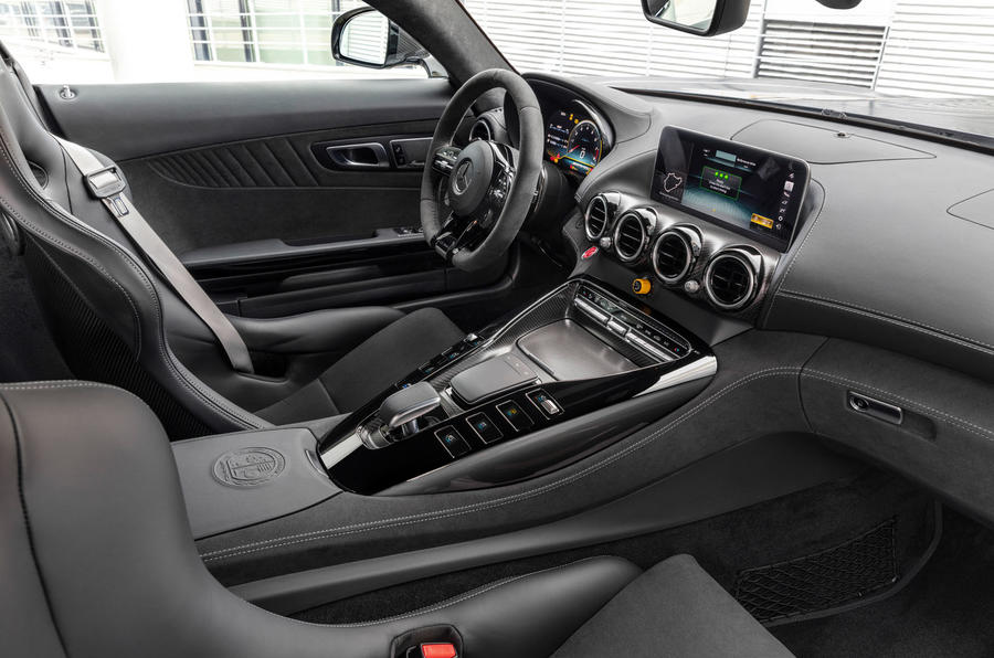 Mercedes-AMG GT R Pro 2019 first drive review - dashboard