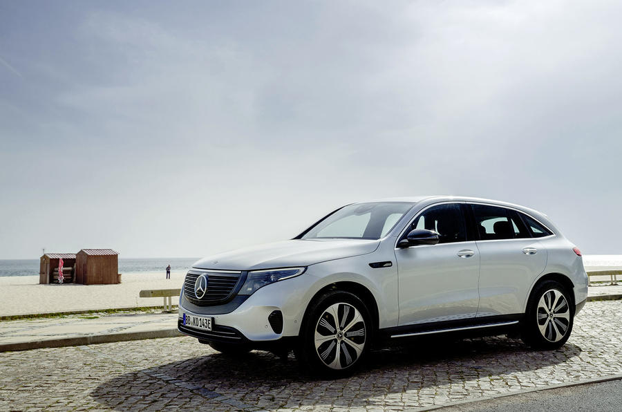 Mercedes-Benz EQC 2019 first drive - static front