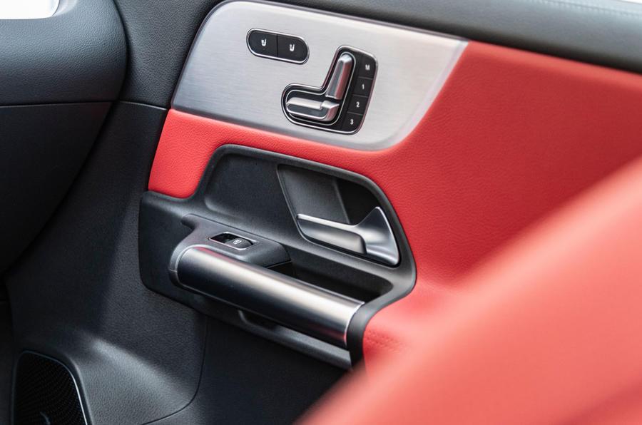 Mercedes-Benz GLA 2020 UK first drive review - door trims