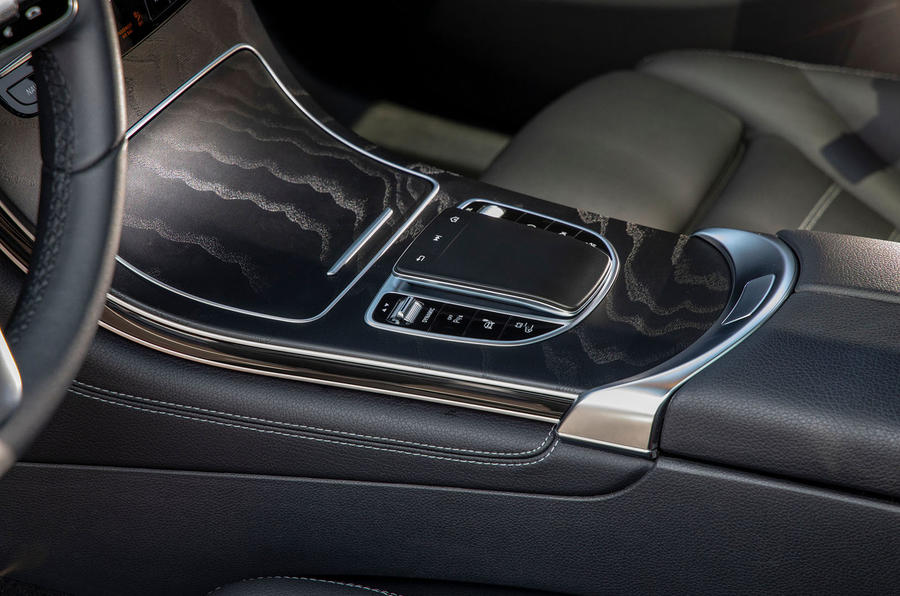 Mercedes-Benz GLC F-Cell 2019 first drive review - centre console
