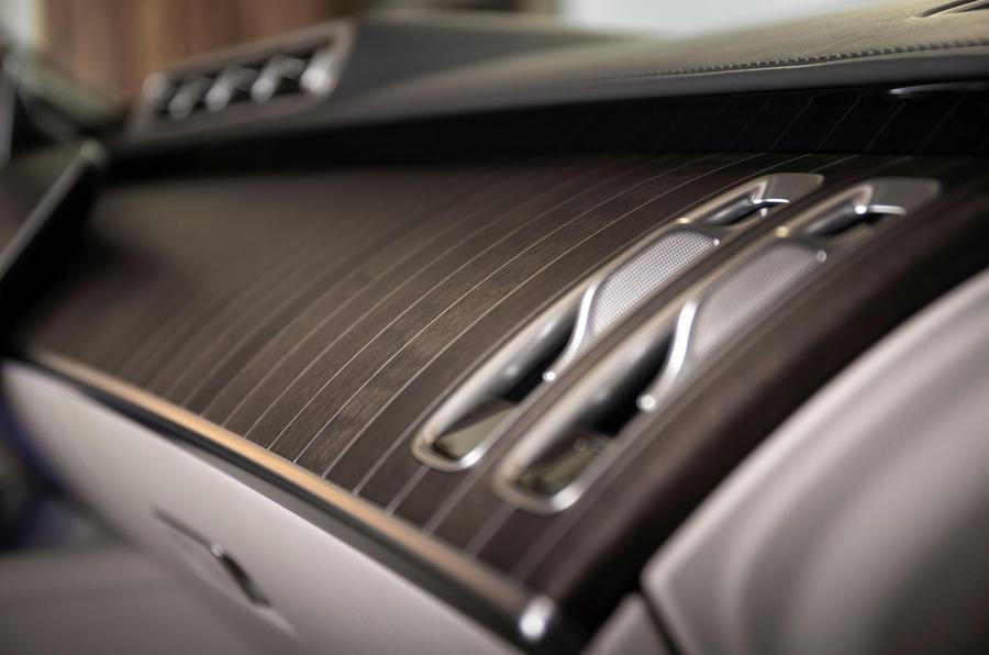 Mercedes-Benz S Class S580e 2020 first drive review - interior trim