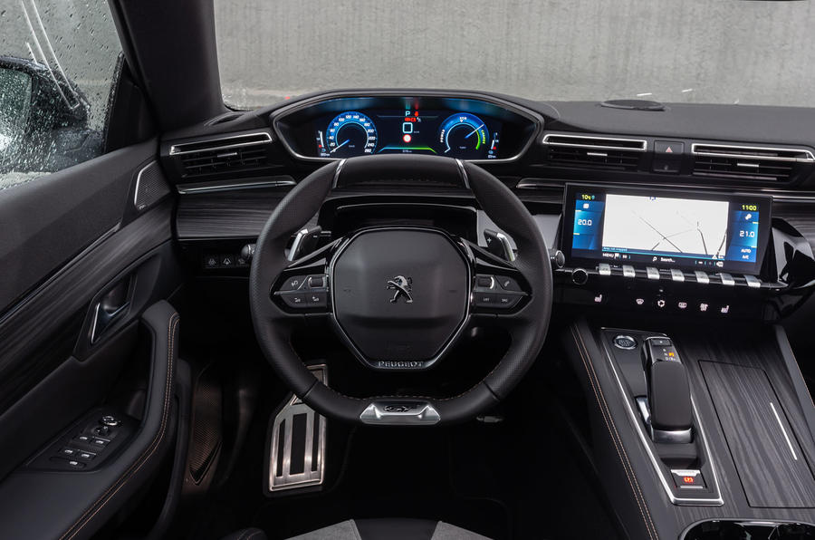 Peugeot 508 Hybrid4 2020 first drive review - dashboard