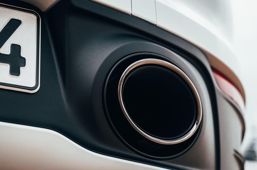 Porsche 911 Targa 2020 UK first drive review - exhaust