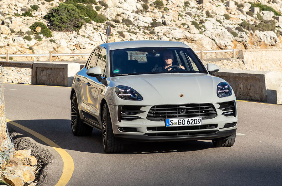 Porsche Macan S 2019 first drive review - on the road front
