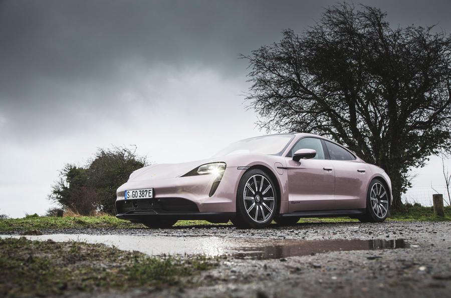 12 Porsche Taycan RWD 2021 : premier examen de la conduite au Royaume-Uni
