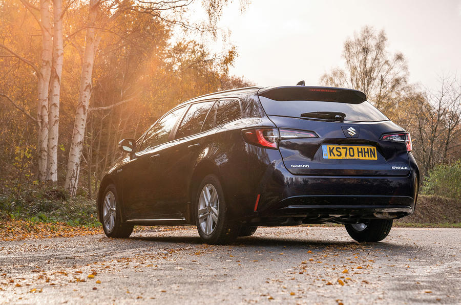 Suzuki Swace 2021 UK First Drive review - static rear