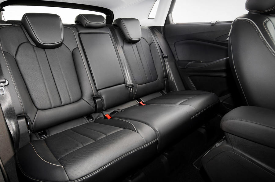 Vauxhall Grandland X Hybrid4 2020 first drive review - rear seats